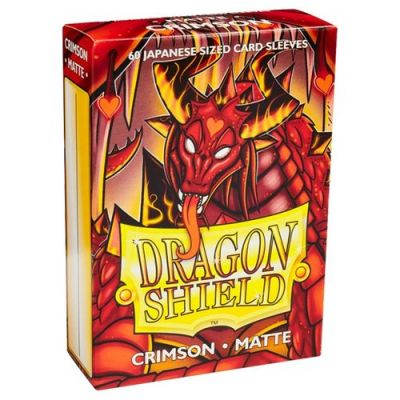 DRAGON SHIELD CRIMSON JAPAN MATTE