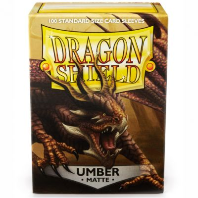 DRAGON SHIELD MATTE UMBER 100-CT