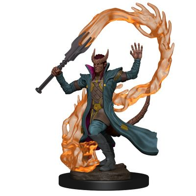 DD5: ICONS: TIEFLING MALE SORCERER