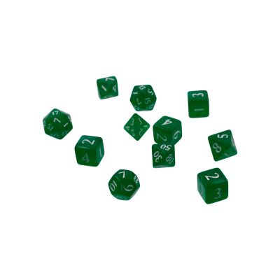 Eclipse 11-Dice Set: Forest Green