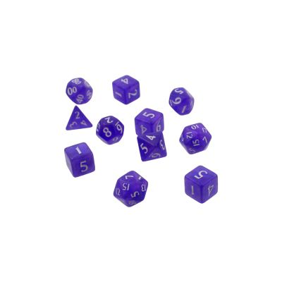 Eclipse 11-Dice Set: Royal Purple