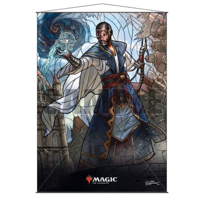 MAGIC TEFERI STAINED GLASS WALL SCROLL