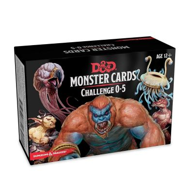 MONSTER CARDS 0-5