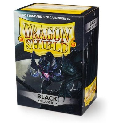 DRAGON SHIELD BLACK 100-CT