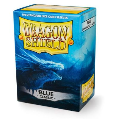 DRAGON SHIELD BLUE 100-CT