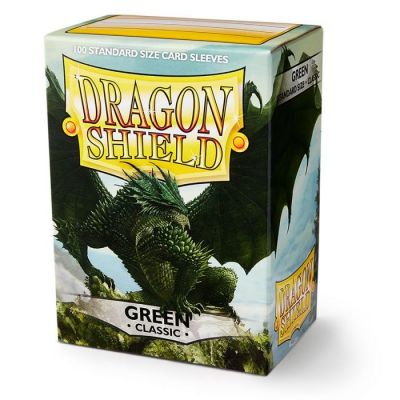 DRAGON SHIELD GREEN 100-CT