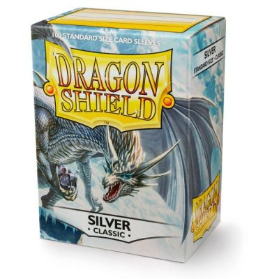DRAGON SHIELD SILVER 100-CT