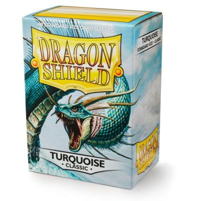 DRAGON SHIELD TURQUOISE 100-CT
