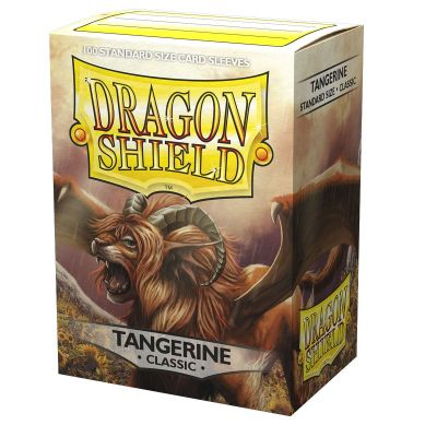 DRAGON SHIELD CLASSIC TANGERINE SLEEVES 100-CT