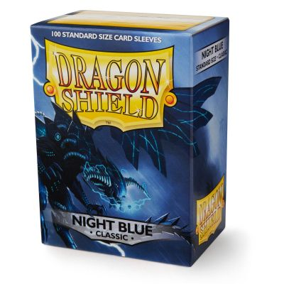 DRAGON SHIELD CLASSIC NIGHT BLUE SLEVES 100-CT