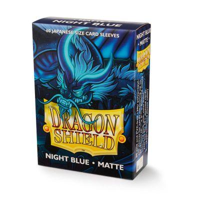 DRAGON SHIELD NIGHT BLUE SMALL MATTE SLEEVES 60CT
