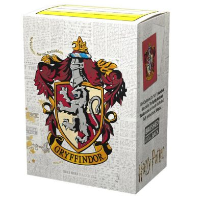 DS WW Gryffindor Brushed Art Sleeves 100ct
