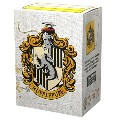DS WW Hufflepuff Brushed Art Sleeves 100ct