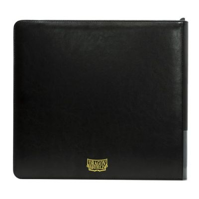 DRAGON SHIELD CARD CODEX BLACK ZIPSTER XL BINDER