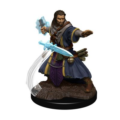 DD5 Icons: Human Male Wizard Premium Figure