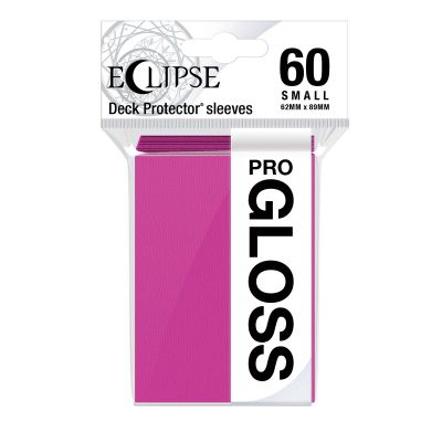 Eclipse Gloss Small Size Hot Pink Deck Protector 60ct
