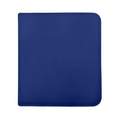 12-Pkt Blue Zippered PRO-Binder
