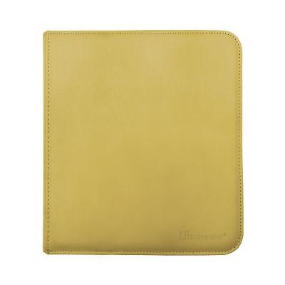 12-Pkt Yellow Zippered PRO-Binder