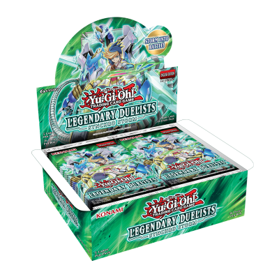Legendary Duelists 8 Synchro Storm Booster Display
