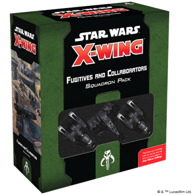 SW X-Wing: Fugitives and Collaborators Squadron Pack