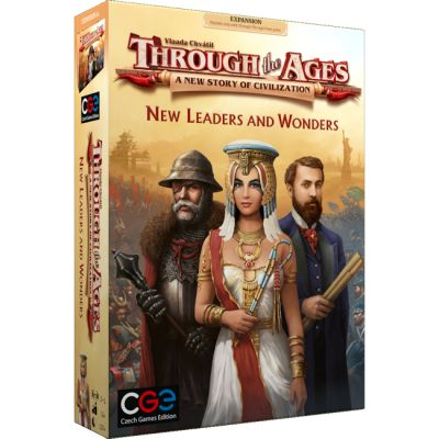 Through The Ages: New Leaders & Wonders Boardgame