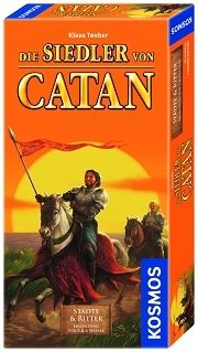 S.O.CATAN CITIES & KNIGHTS 5-6 EXPANSION