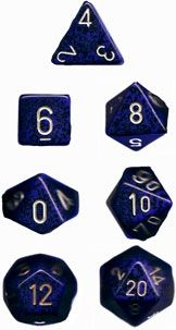 SPECKLED GOLDEN COBALT 7-DIE SET