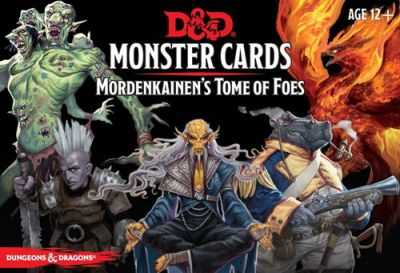 DD5: MONSTER CARDS: MORDENKAINEN'S TOME