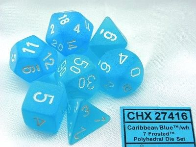 FROSTED CARIBBEAN BLUE 7-DIE SET