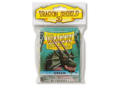DRAGON SHIELD GREEN CLASSIC DP 50CT