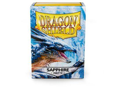 DRAGON SHIELD MATTE SAPPHIRE 100-CT