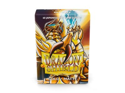 DRAGON SHIELD GOLD SMALL MATTE .60-CT
