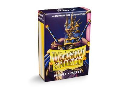 DRAGON SHIELD PURPLE SMALL MATTE 60-CT