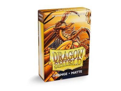 DRAGON SHIELD ORANGE SMALL MATTE 60-CT