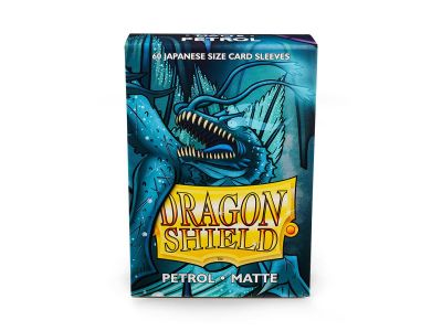 DRAGON SHIELD PETROL SMALL MATTE.60CT