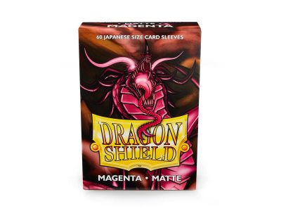 DRAGON SHIELD MAGENTA SMALL MATTE.60C