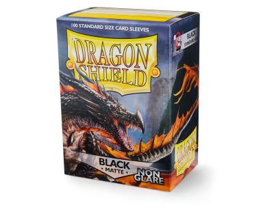 DRAGON SHIELD BLACK NON-GLARE MATTE DECK PROTECTOR