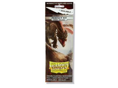 DRAGON SHIELD PERFECT FIT SEALABLE SMOKE 100CT