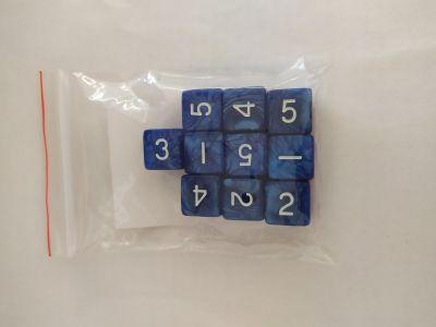 10 PEARL D6 BLUE/WHITE