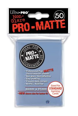 CLEAR PRO MATTE DECK PROTECTOR 50CT