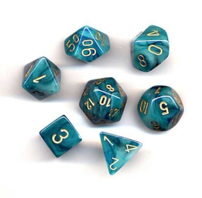 PHANTOM TEAL/GOLD 7-DIE SET
