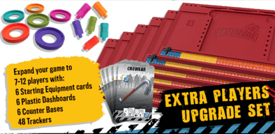 Zombicide 2nd Edition Extra Players Upgrade Set