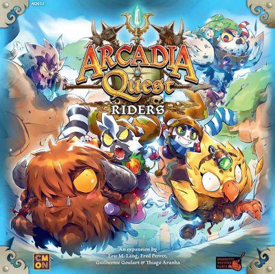 ARCADIA QUEST: RIDERS.