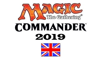 MTG: COMMANDER 2019 DECK DISPLAY(4)
