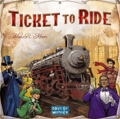 Ticket To Ride - English