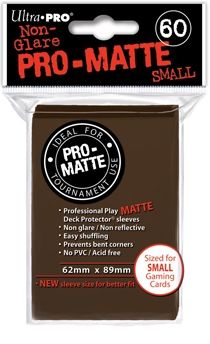 BROWN SMALL PRO ΜΑΤΤΕ DECK PROTECTOR 60-CT
