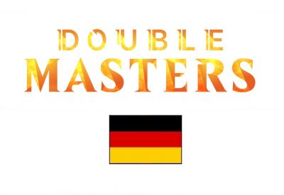 Double Masters DE Draft Booster Display