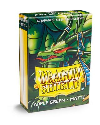 DRAGON SHIELD APPLE GREEN JAPAN MATTE
