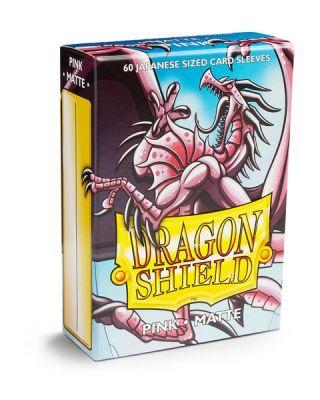 DRAGON SHIELD PINK JAPAN MATTE 60CT