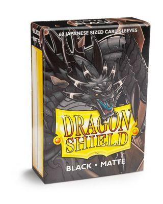 DRAGON SHIELD BLACK JAPAN MATTE 60CT